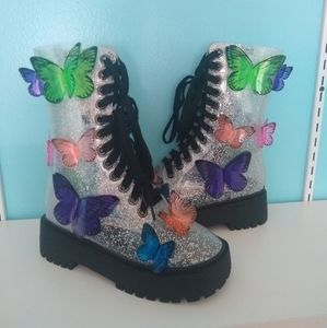 NWOB Butterfly Boots